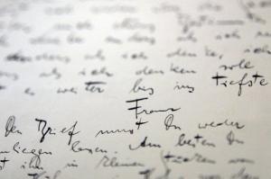 Carta a la deriva
