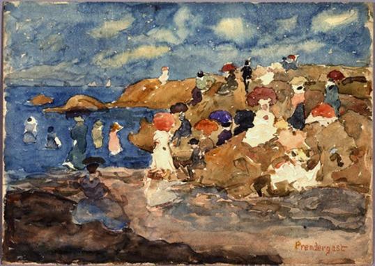 Prendergast, Revere Beach 1896